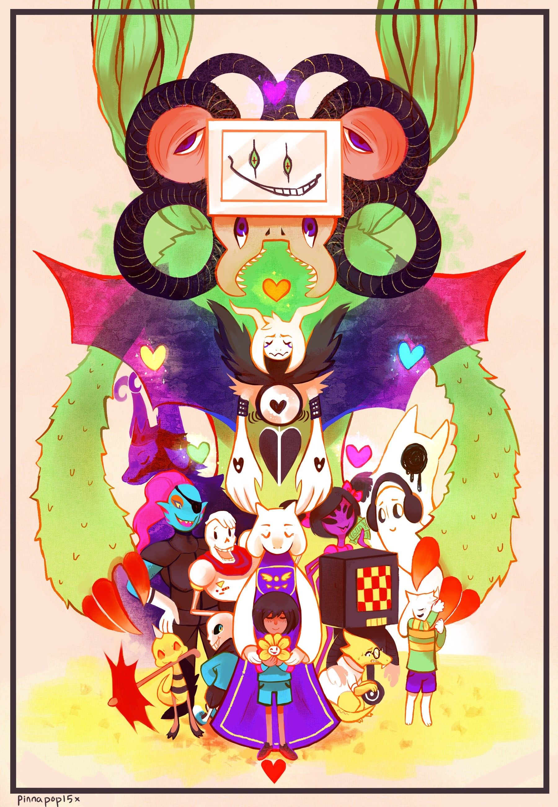 74+ Undertale Mobile Wallpapers on WallpaperPlay | Oh god