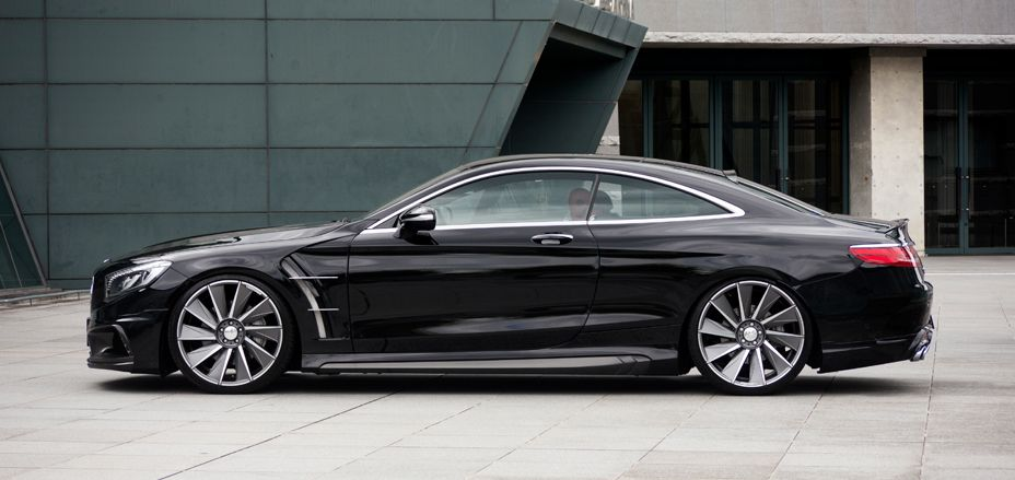 Gallery Mercedes Benz S Class Coupe C217 Black Bison Edition