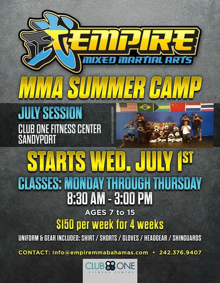 Mma summer camp clubonebahamas summer camp mixed