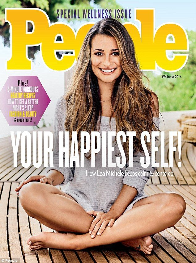 Talkin' body: Lea Michele posed for the cover of People magazine's Special…