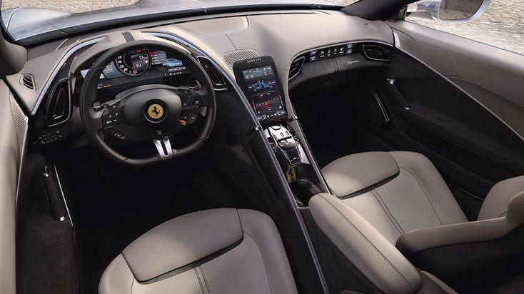 Ferrari Interior Supercars