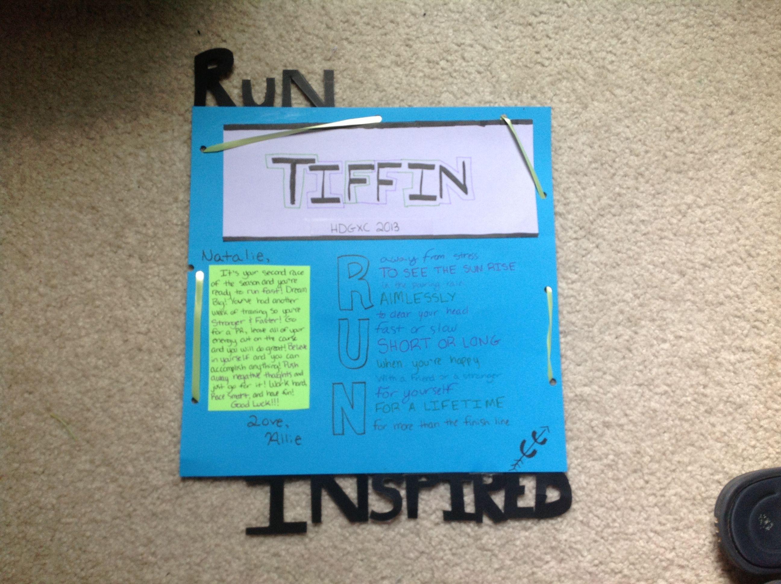 Race letter Race letter Stuff I