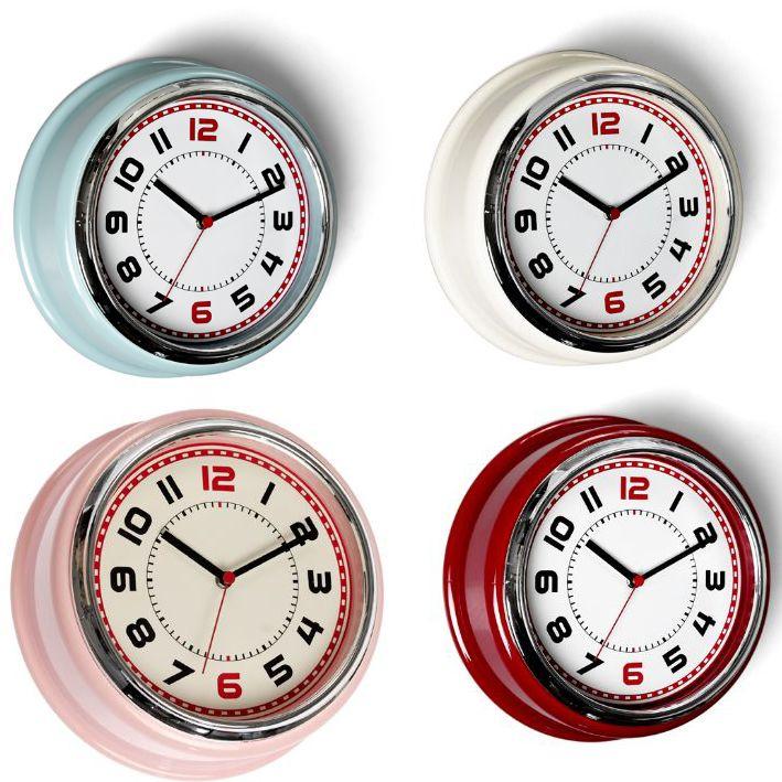 Retro Bakelite 50 S Diner Wall Clocks