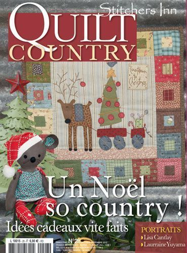 Country Nr 28 French Patchwork Magazine