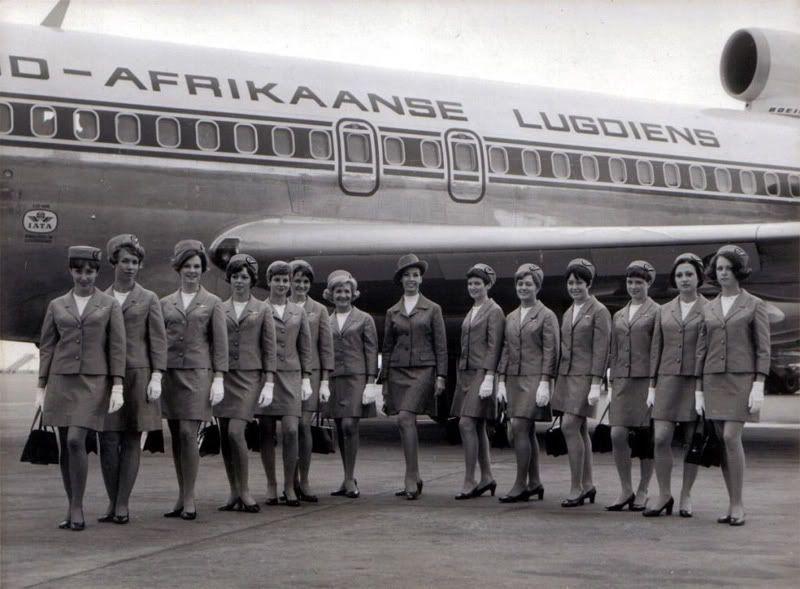 Anekdotique Vintage Airhostess Stewardess Goldenage