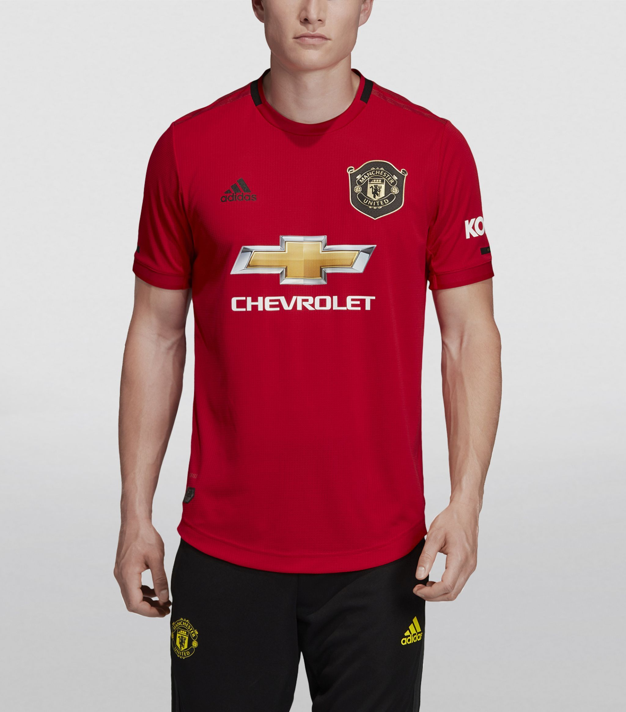 Adidas Red Manchester United Home Jersey Ad Sponsored Manchester Red Adidas Jersey Home Mens Tops Mens Tshirts Womens Fashion Accessories