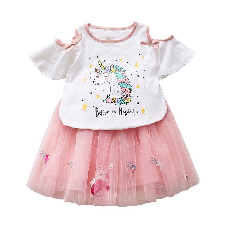 57aa00f43034 Summer Unicorn Girls Pajamas Dress in 2019 | Time to be a Unicorn | Girls  pajamas, Unicorn, Pajamas