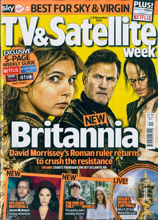 Tv Satellite Week Magazine Subscription Buy At Newsstand Co Uk Television In 2020 Satellites Tv Prime Video