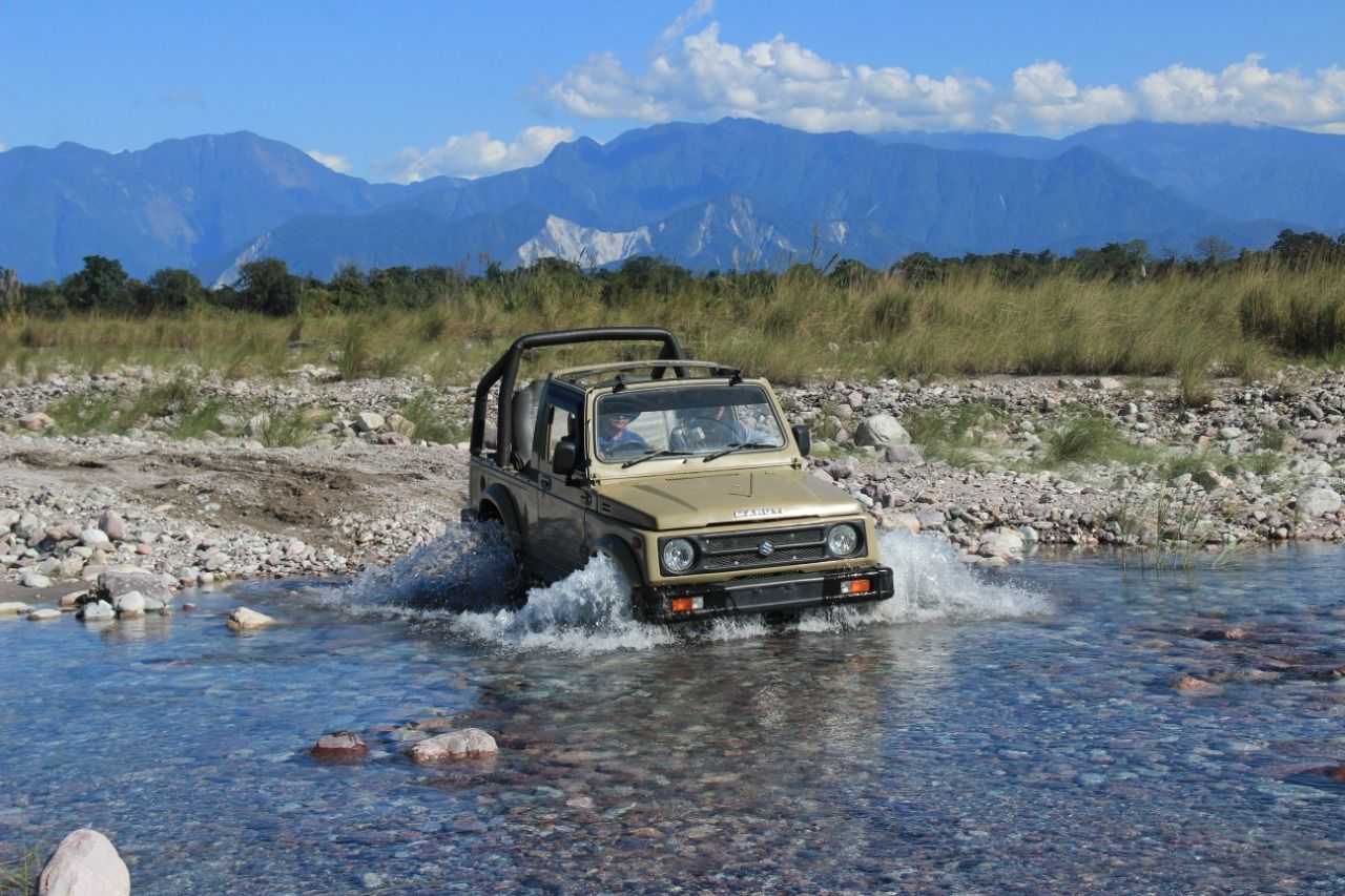 Soft adventures in Arunachal Pradesh. Although bridges are improving connectivity and access to remote areas of Arunachal Pradesh, go down-under across a riverbed amidst lush green mountains and snow-capped peaks - a memory to live your life with.  Visit us at www.anvayins.com  #anvayins #india #incredibleindia #travelgram #incrediblenortheast #northeastdiaries #northeastbeauty #northeasttourism #travelnortheast #culturalheritage #culturegram #culturetour #culturaltourismindia