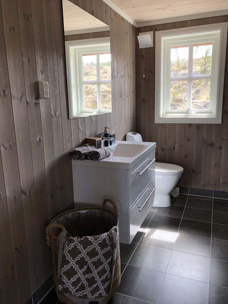 Photo of Beitou grå i hytta