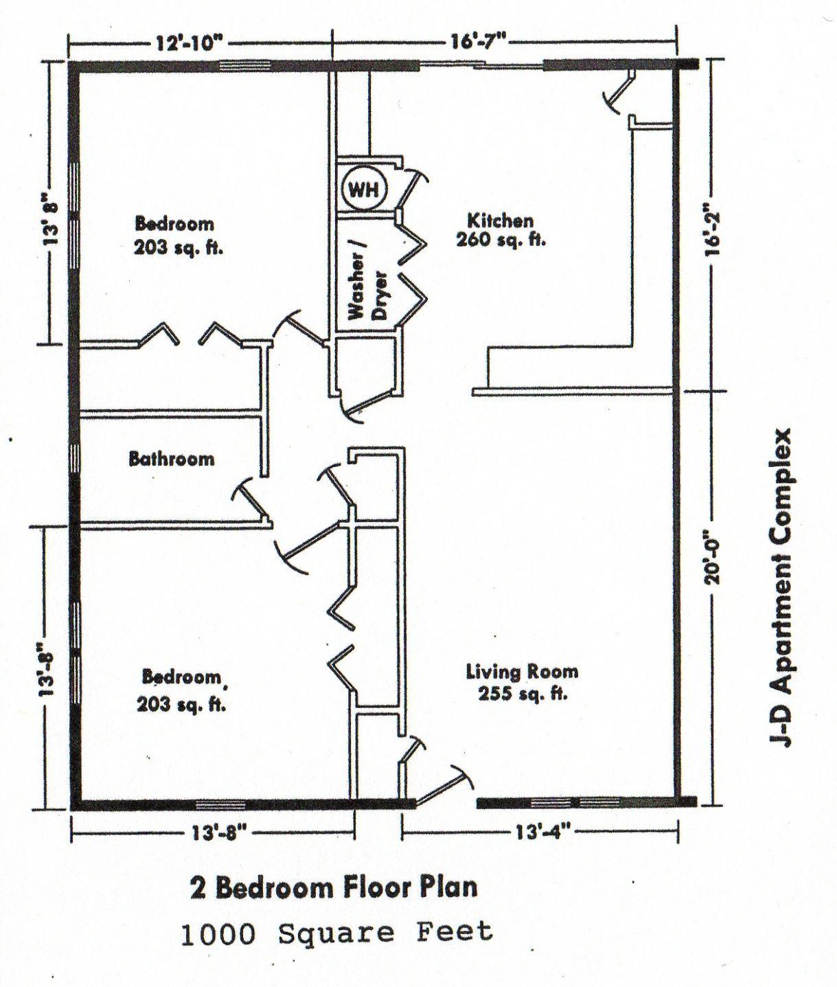 2 Bedroom Addition Floor Plans Space Saving Bedroom
