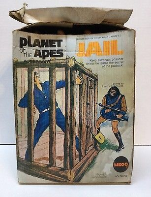 Vintage Planet of the Apes Mego Jail Accessory w/Box No Lock