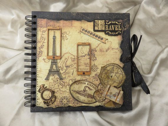 travel theme photo album
