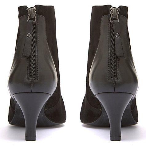 Mint Velvet Lucie Kitten Heel Ankle Boots Black Kitten Heel Ankle Boots Heels Ankle Boots