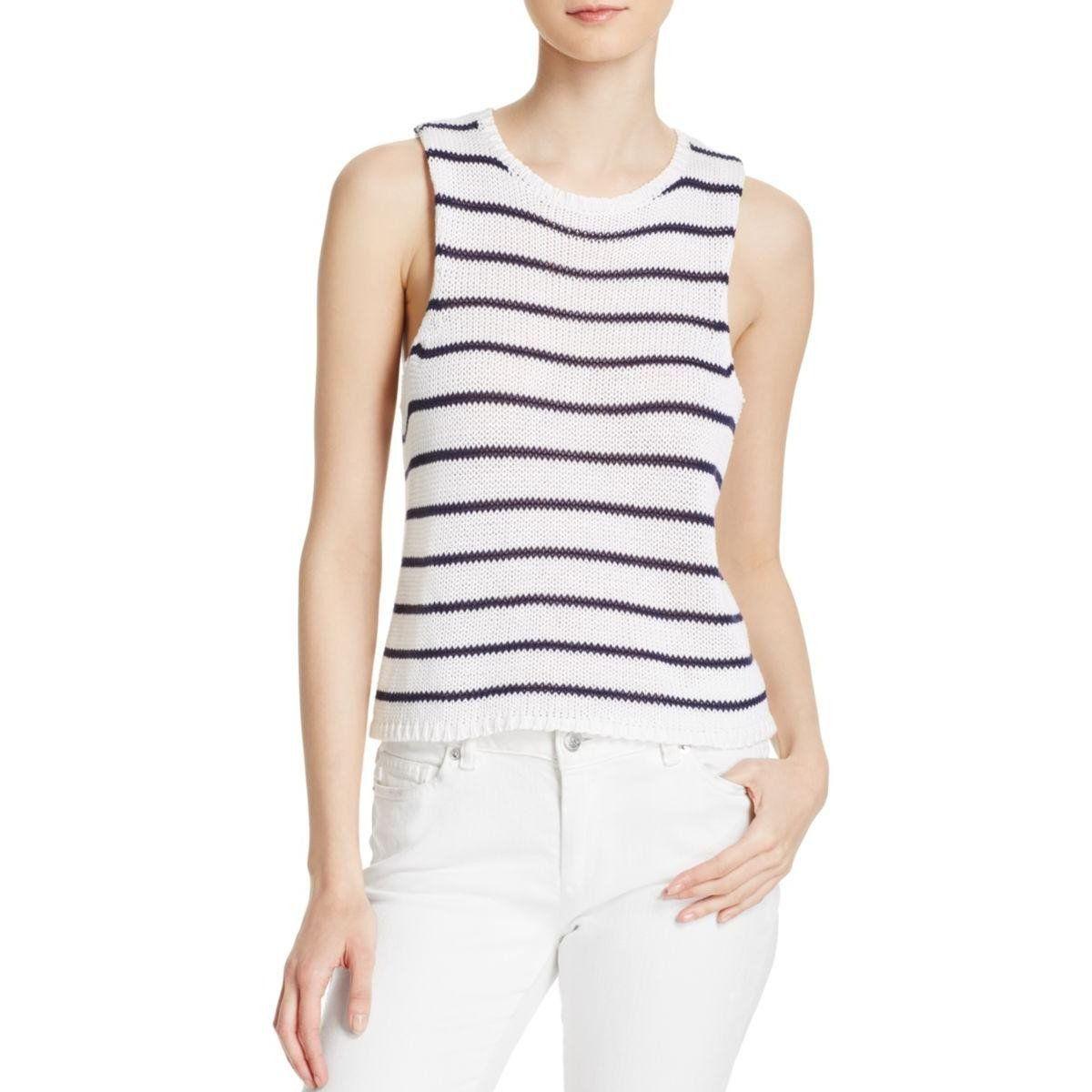 Rails Womens Jenna Knit Striped Tank Top