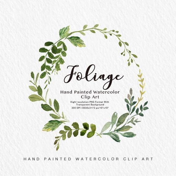 Aquarell Blatt Clipart Blatt Kleines Set Individuelle Png Dateien Hand Bemalt Hochzeit Design Fruhling Aquarell In 2020 Clip Art Watercolor Leaves Wreath Watercolor