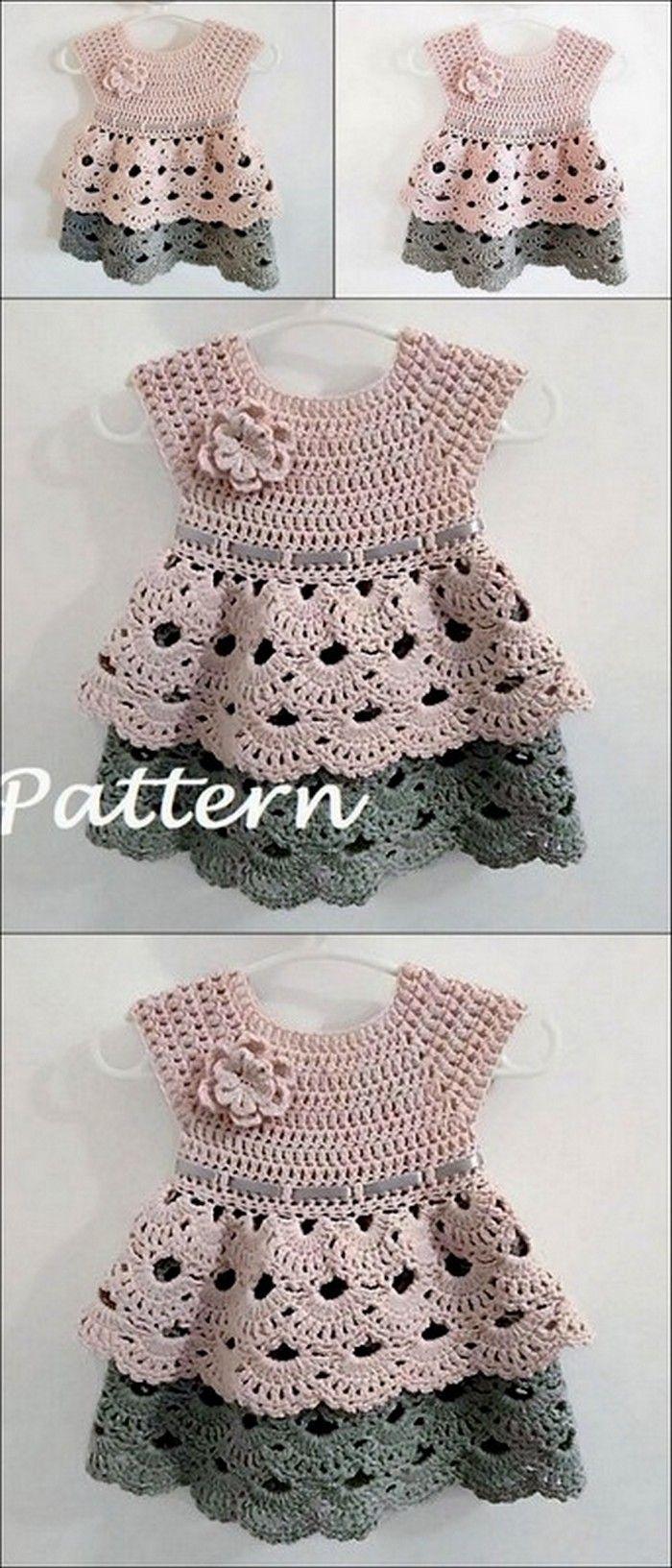 Kids Clothing Free Crochet Pattern #babykidclothesandideas