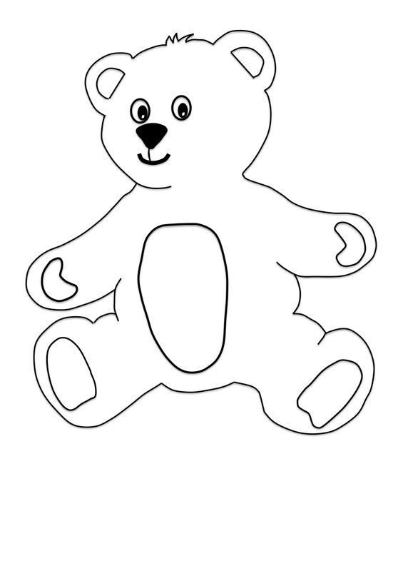 Free Craft For Kids Teddy Bear With Pyjamas Pajamas