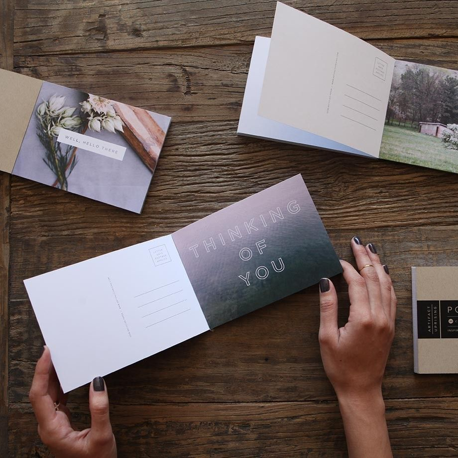 High quality custom postcards
