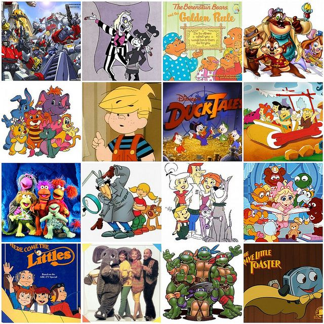 Cartoon Characters In The 80s : S cartoons cartoon and childhood