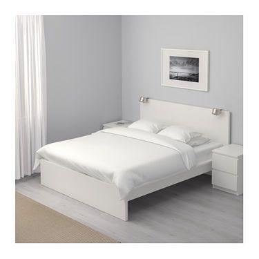Malm Bed Frame High White Luroy Ikea Malm Bed Frame Malm Bed
