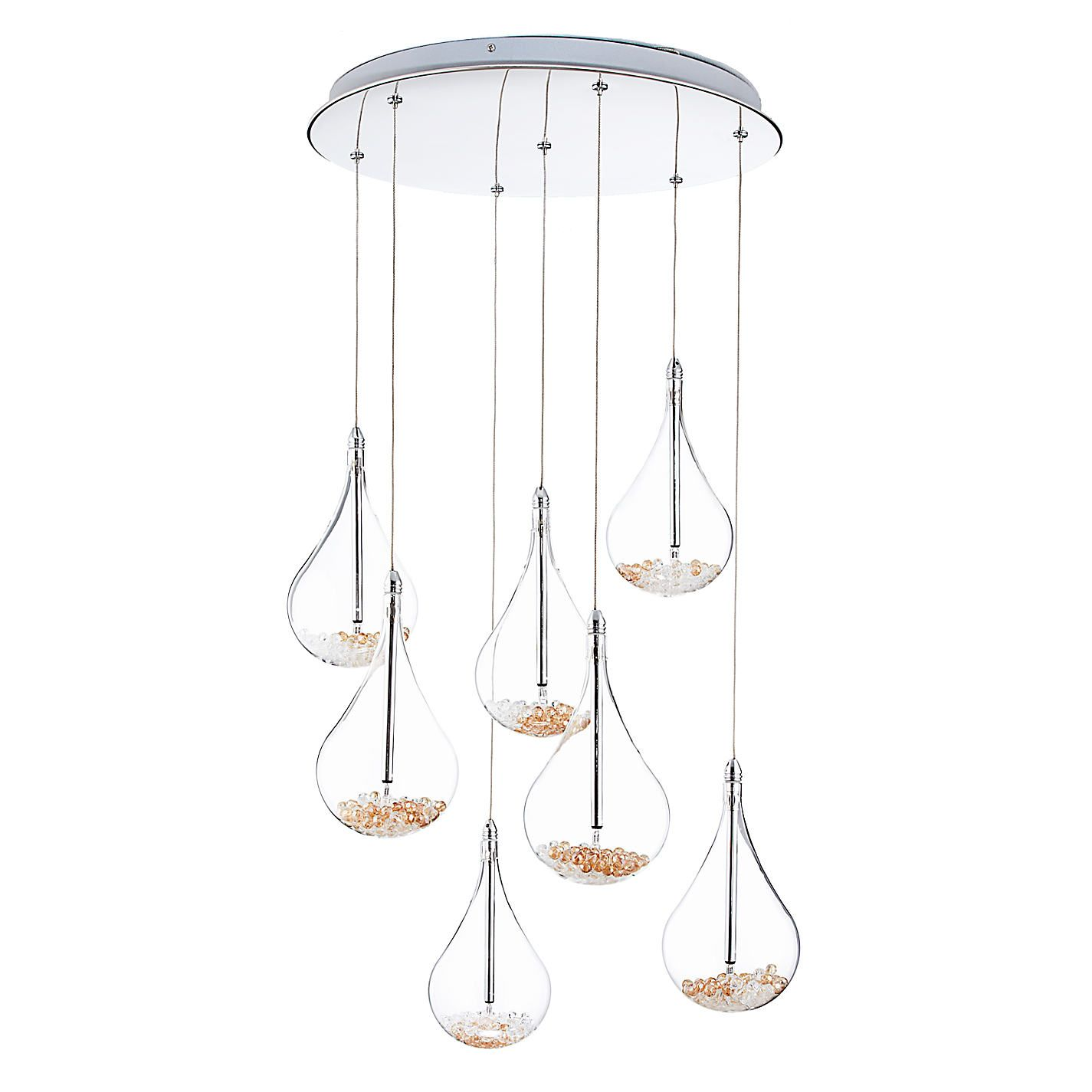 Buy john lewis sebastian 7 light drop ceiling light john lewis buy john lewis sebastian 7 light drop ceiling light john lewis aloadofball Images