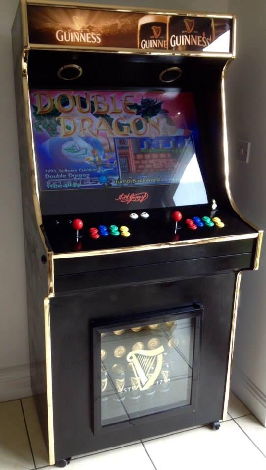 double dragon arcade cabinet plans