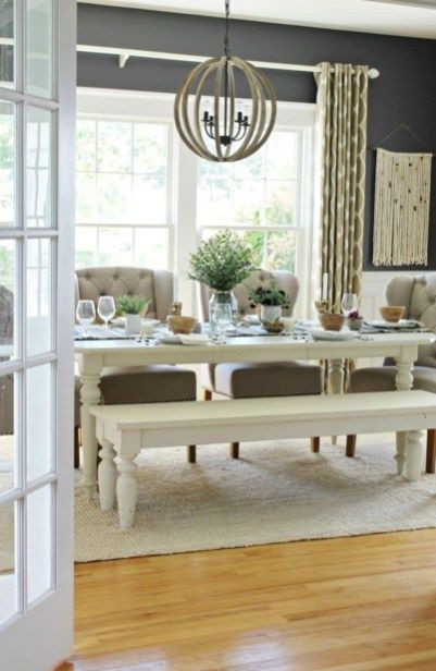 41 Captivating Rustic Dining Room Designs You Cant Miss Out images