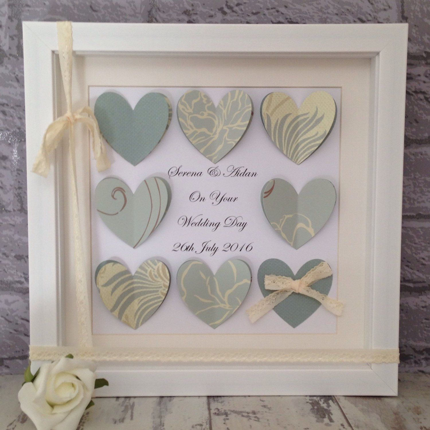 Beautiful Unique Wedding Gifts Available To Order From My Shop If You Like The Design