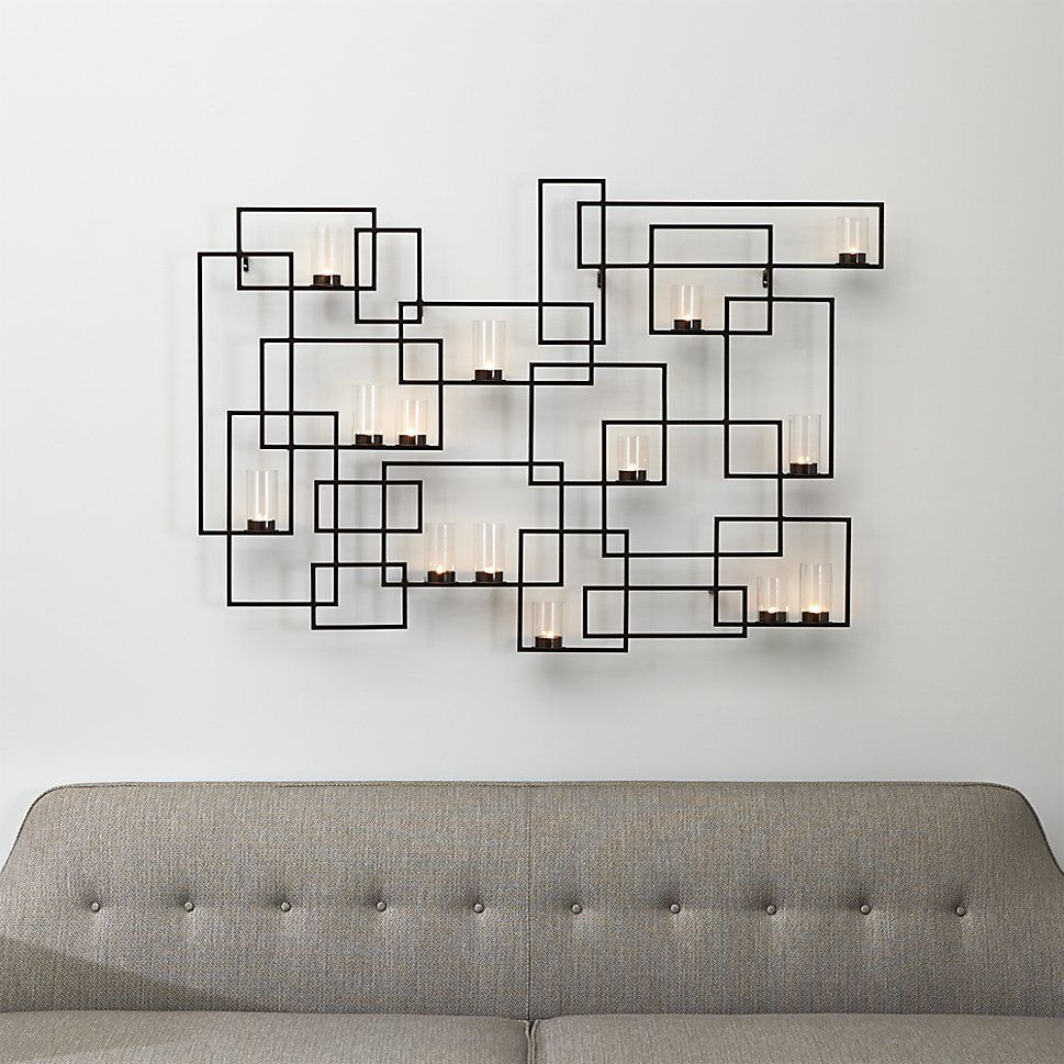 Circuit metal wall candle holder pinterest wall candle holders