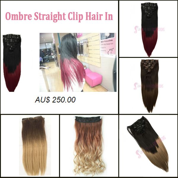 Shine With True Colour Of Your Personality By Clipping In Ombre Hair