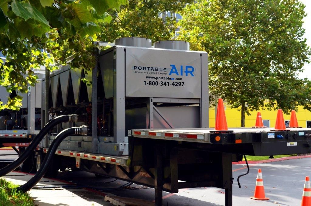 Portable AIR provides temporary rental equipment.. both