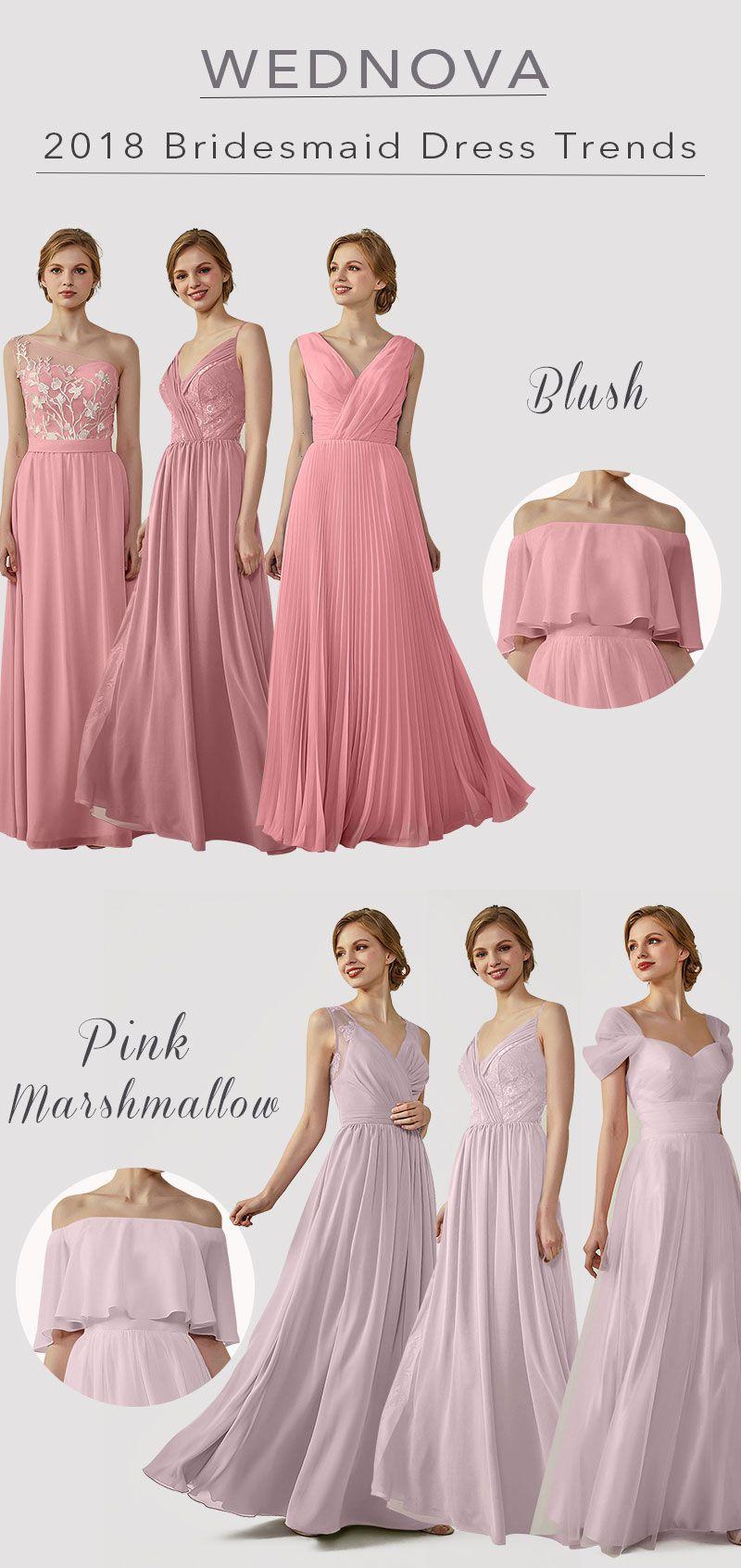 Sexy v neck bridesmaid dresses a line one shoulder dress lace