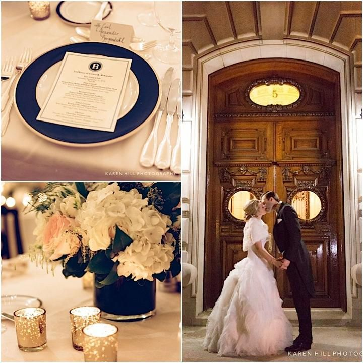 Classic New York Wedding At The Lotos Club Theme Ideas Weddings
