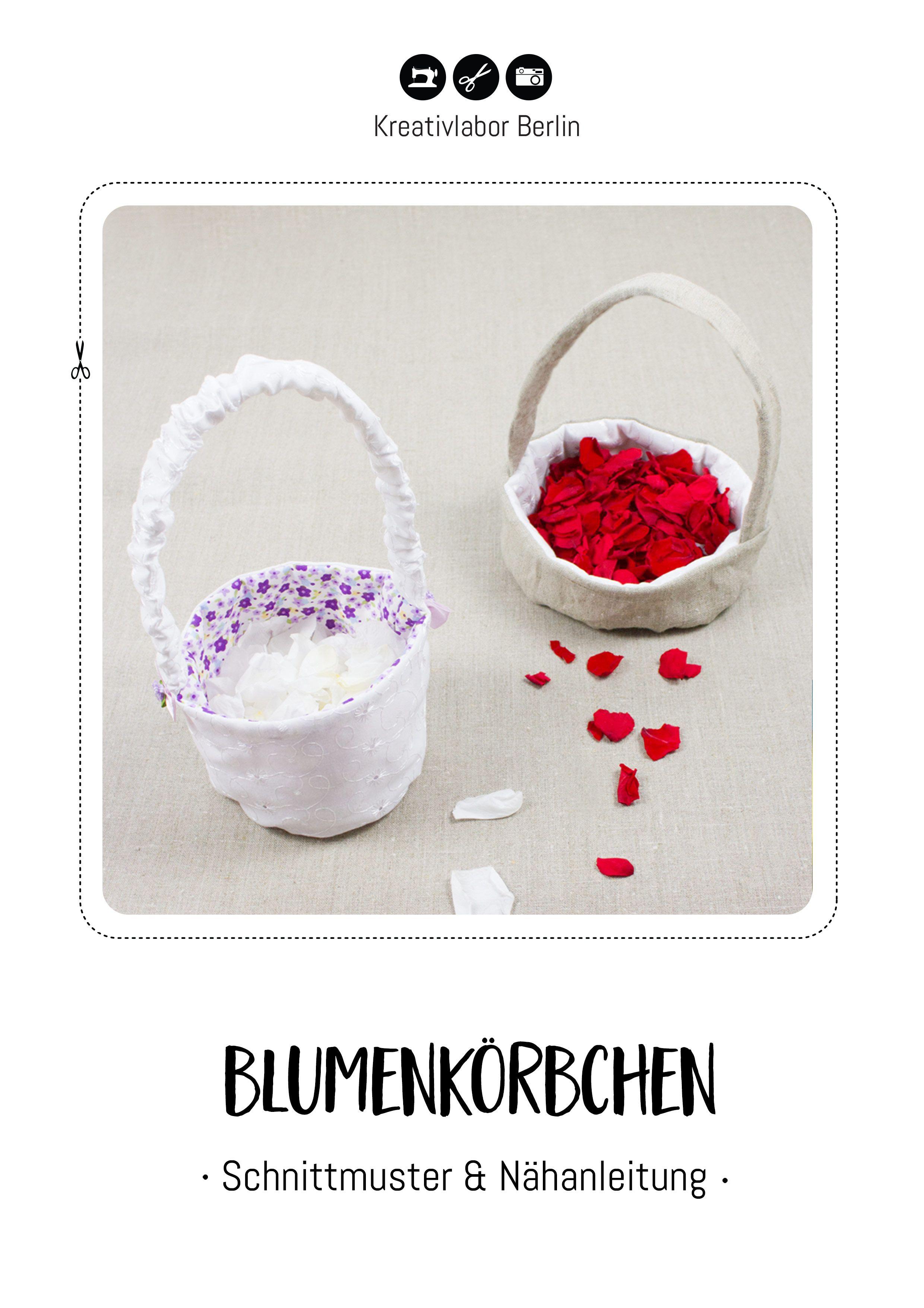 Blumenkorbchen Fur Die Hochzeit In 2 Varianten Blumenkorbchen Hochzeit Tolle Geschenke