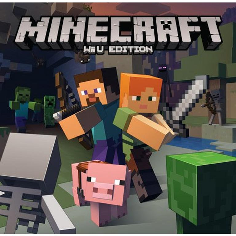 Minecraft Wii U Edition Nintendo Wii U Gamestop Wii U