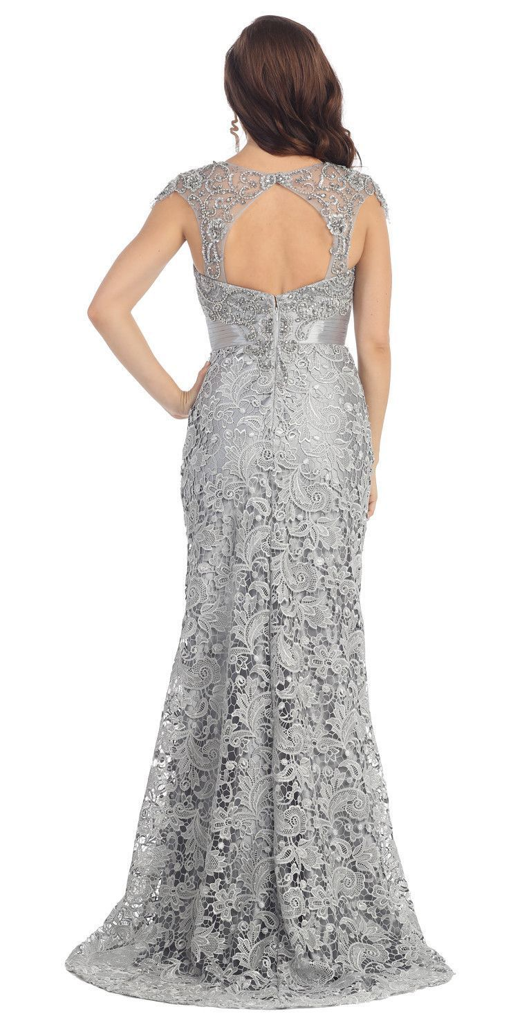 Mother dresses for fall wedding  Long Lace Mother of the Bride Dress   Bride dresses Bride