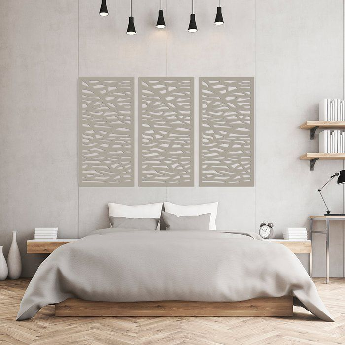 Accent Wall Using Privacyfence Boards: 4 Ft. H X 2 Ft. W Fence Panel