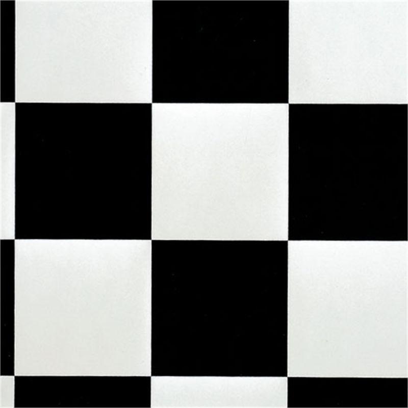 Gerflor Essential 3m Wide Damier Black And White Sheet Vinyl Floor Roll