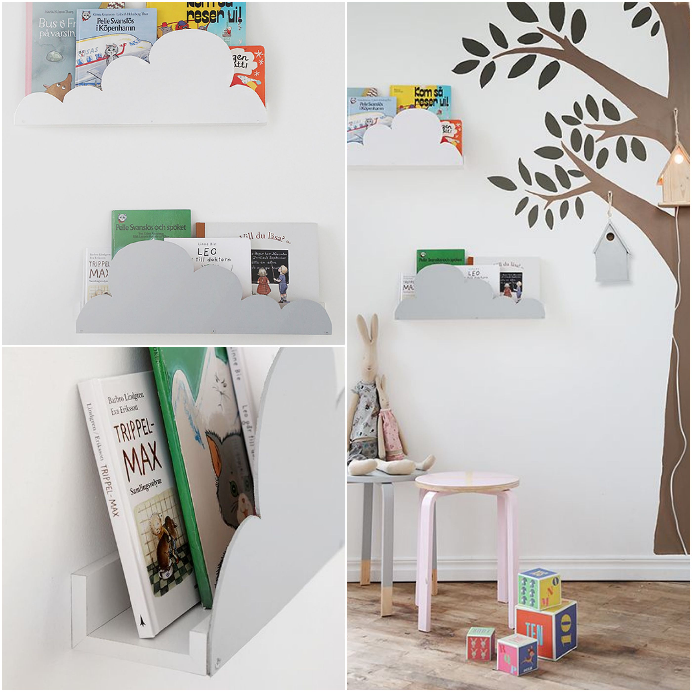 mommo design: 8 LITTLE IKEA HACKS - Ikea Ribba shelf ...