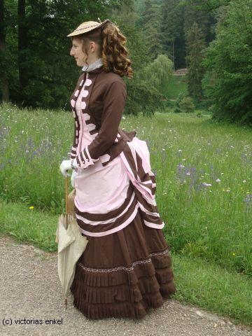 First Bustle Era Day Dress By Victorias Enkel Fr 252 He
