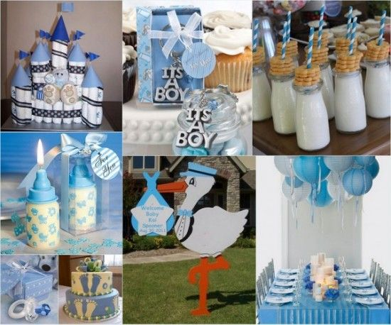Baby shower ideas for a boy from baby shower for Baby shower decoration ideas for twin boys