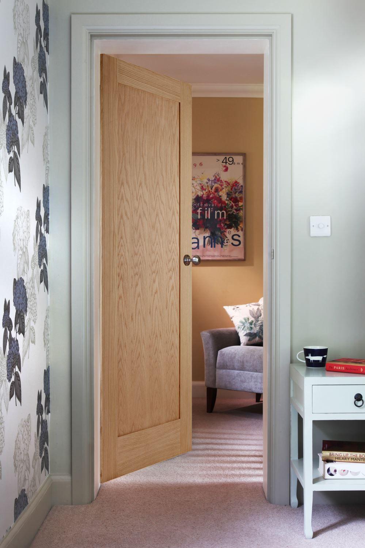 Shaker 1 Panel Oak Traditional Internal Doors Pinterest Oak