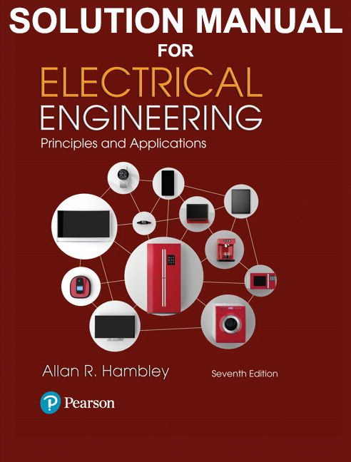 Solution Manual For Electrical Engineering Principles