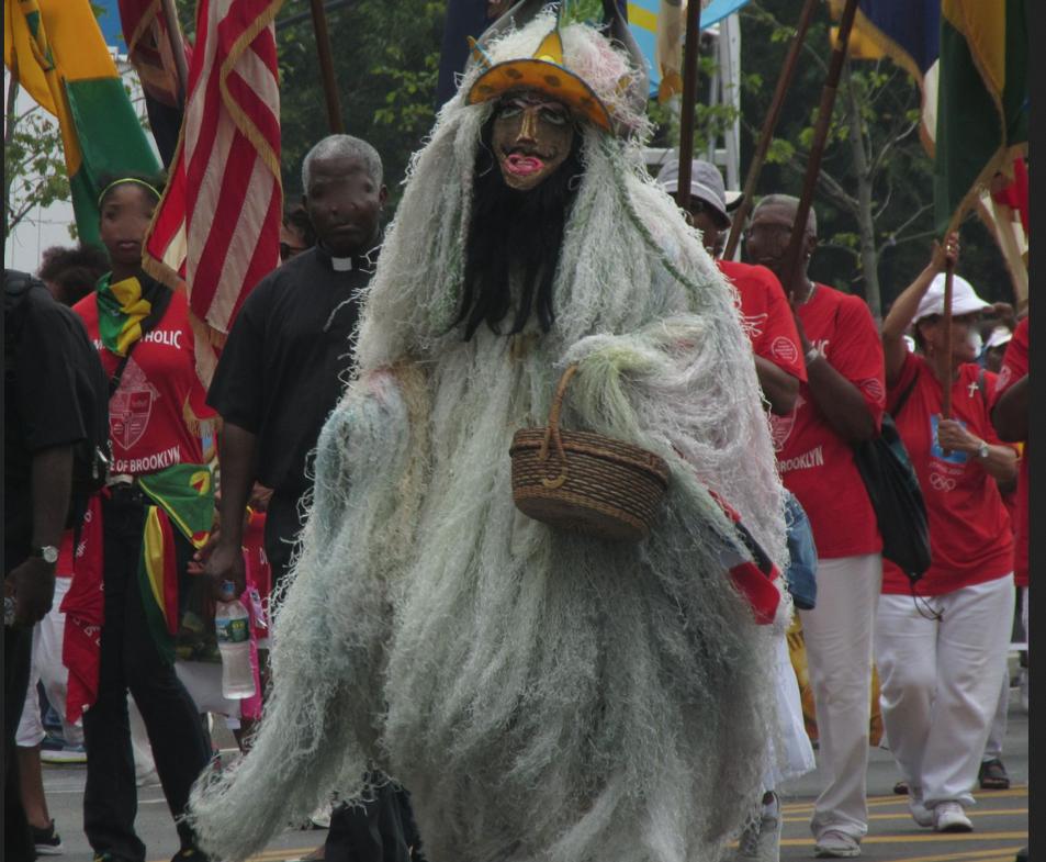2013 West Indian Labor Day Parade participant. Image © E. Freudenheim
