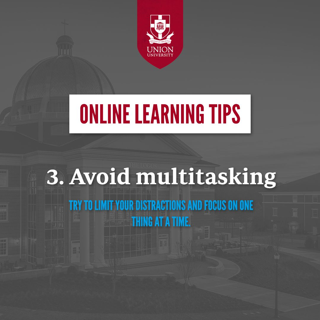 Tips for Students Transitioning to an Online Learning