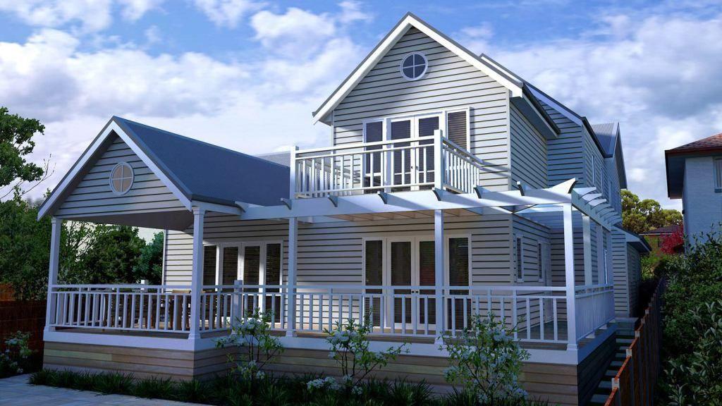 Design of august 2013 the hamptons design storybook designer homes design brief round 1 for Dabella exteriors llc