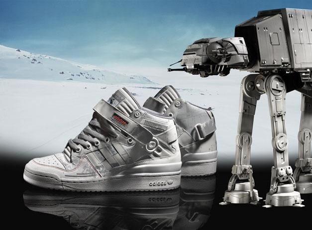 Forum Mid AT AT from the Adidas Star Wars collection