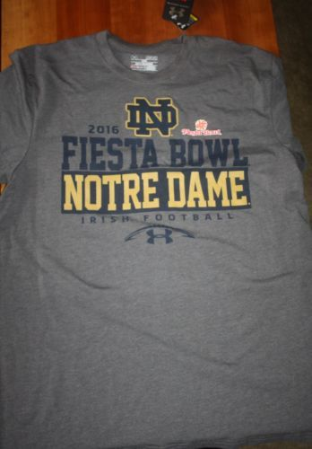 55872514e Notre-Dame-Men-s-Fiesta-Bowl-Shirt-by-Under-Armour-size-S | College ...
