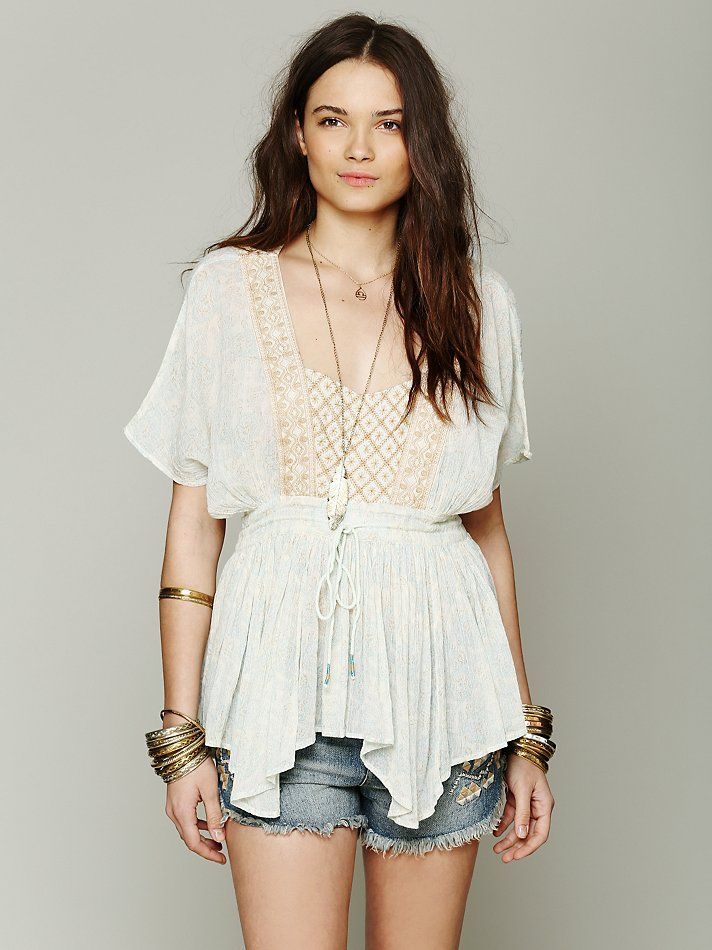 Free People Well Traveled Tunic